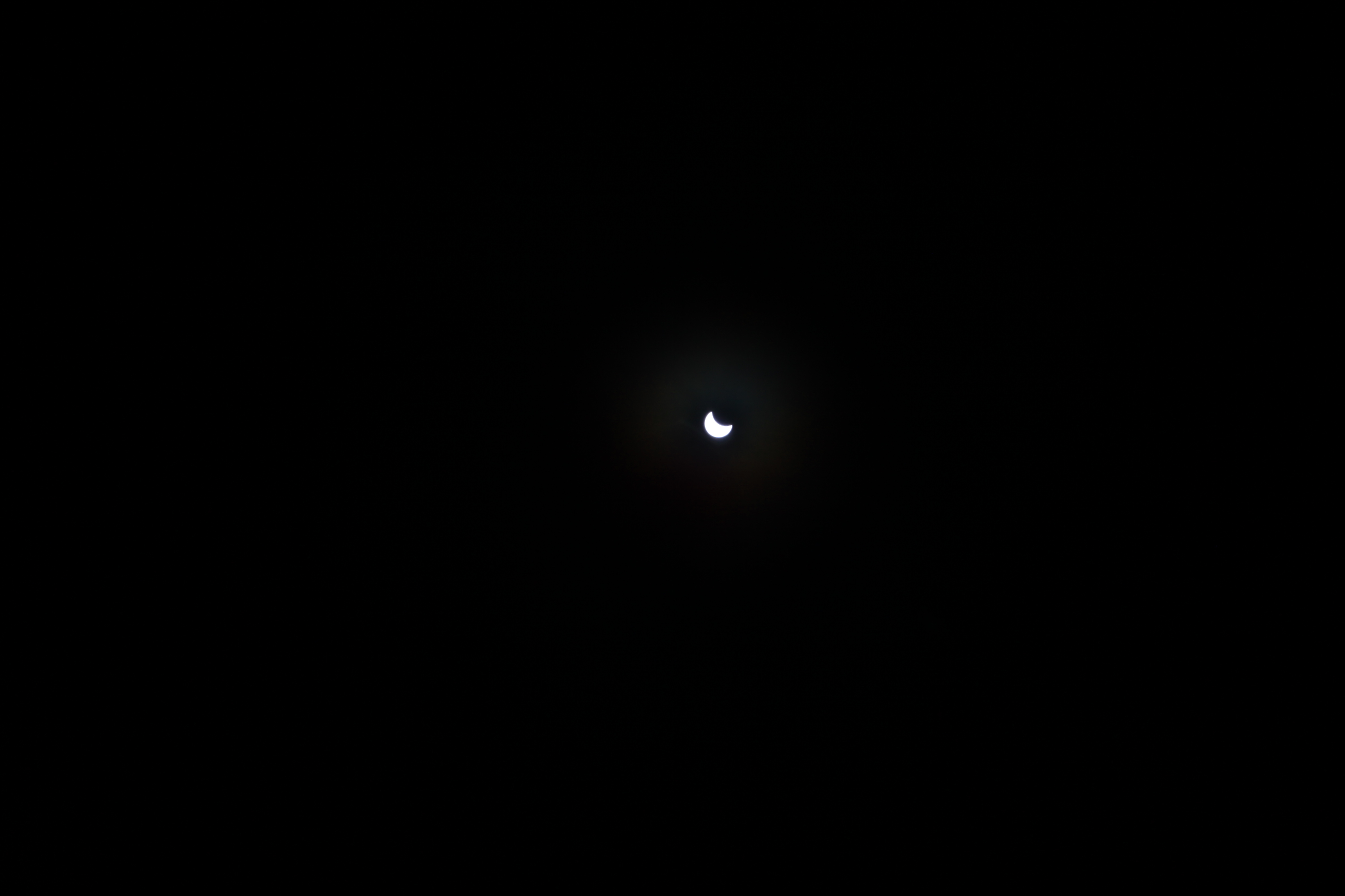 Partial eclipse on March 20, 2015